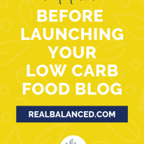 What to Know Before Launching Your Keto Food Blog