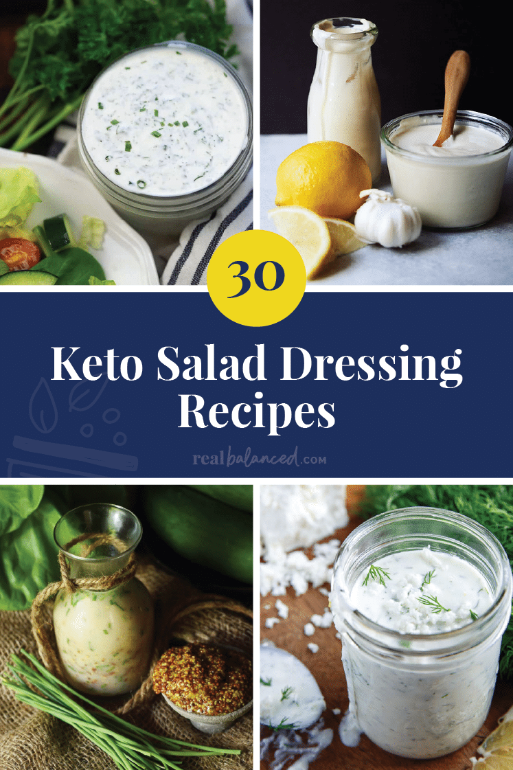 30 Keto Salad Dressing Recipes