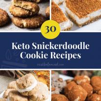 30 Keto Snickerdoodle Recipes