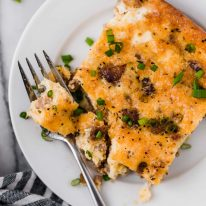 Low Carb Sausage Breakfast Casserole