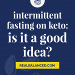 Intermittent Fasting On Keto Is it A Good Idea pinterest pin