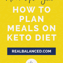 Keto Meal Plan Guide: How to Plan For the Week