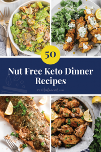 50 Nut Free Keto Dinner Image