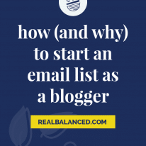 How (And Why) to Start an Email List as a Blogger