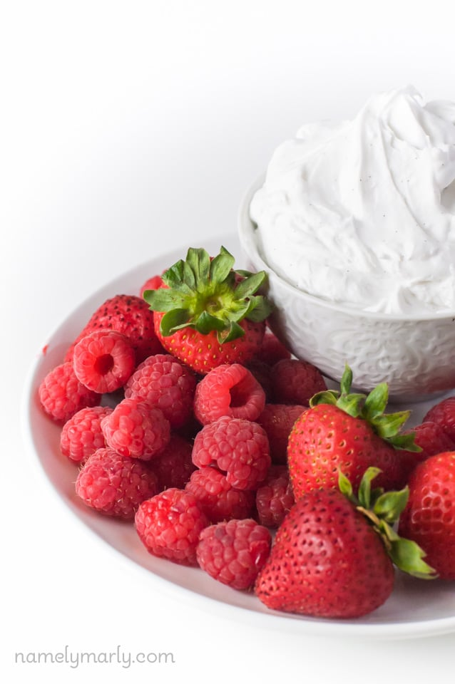 Easy Vegan Keto Low Carb Coconut Whipped Cream
