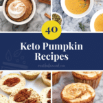 40 Keto Pumpkin recipe round up image