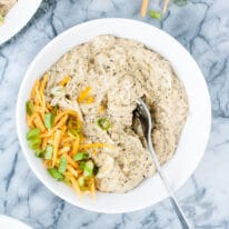 Keto Creamy Ranch Chicken Freezer Meal