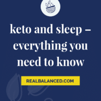 Keto and Sleep – Everything You Need To Know