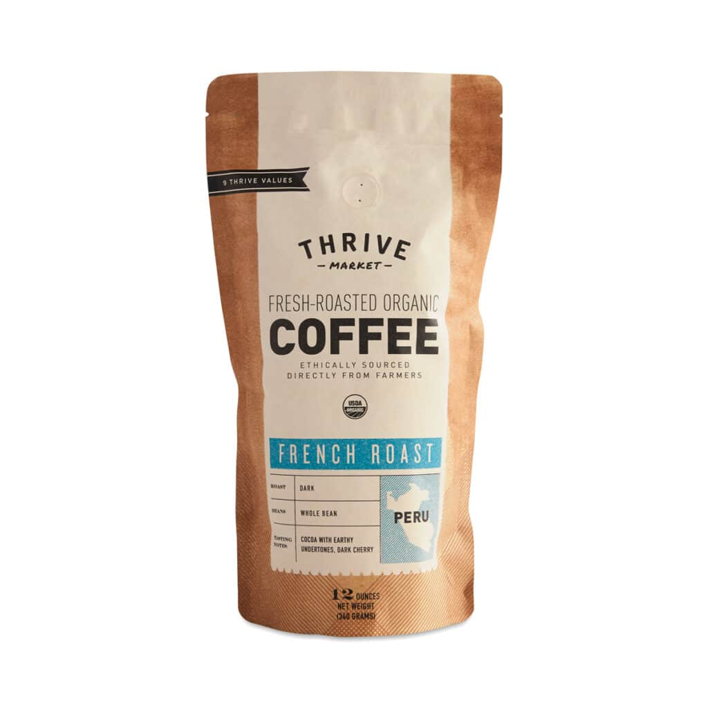 Thrive Market Organic French Roast Coffee