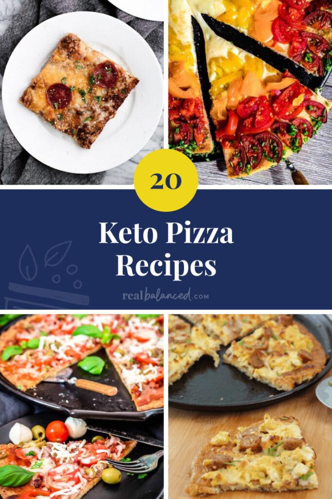 20 Keto Pizza Recipes hero image