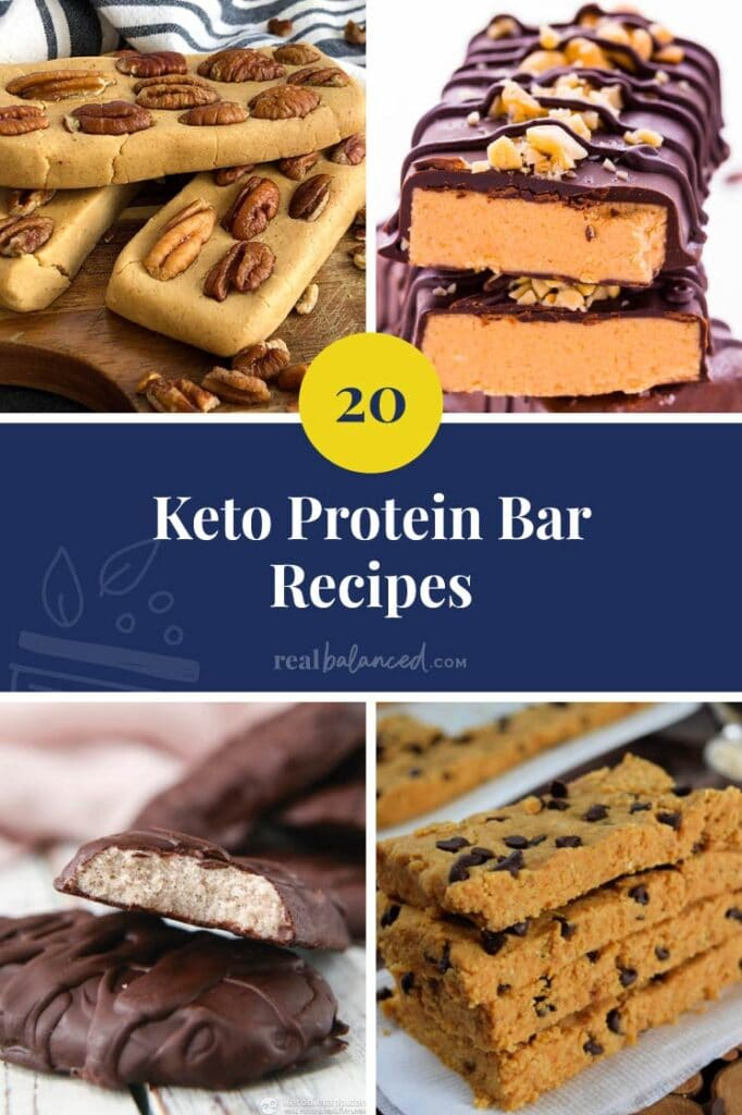 hero image of 20 Keto Protein Bar Recipes
