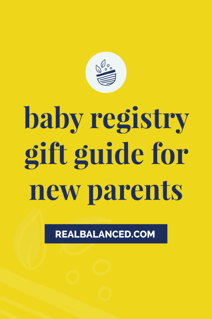 Baby Registry Gift Guide for New Parents hero image