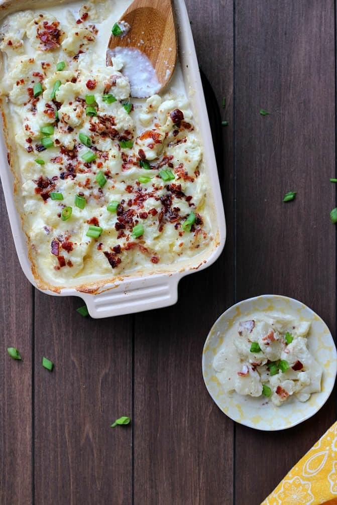 keto-thanksgiving-au-gratin-cauliflower