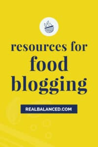 Blogging for Business Resources yellow Pinterest pin