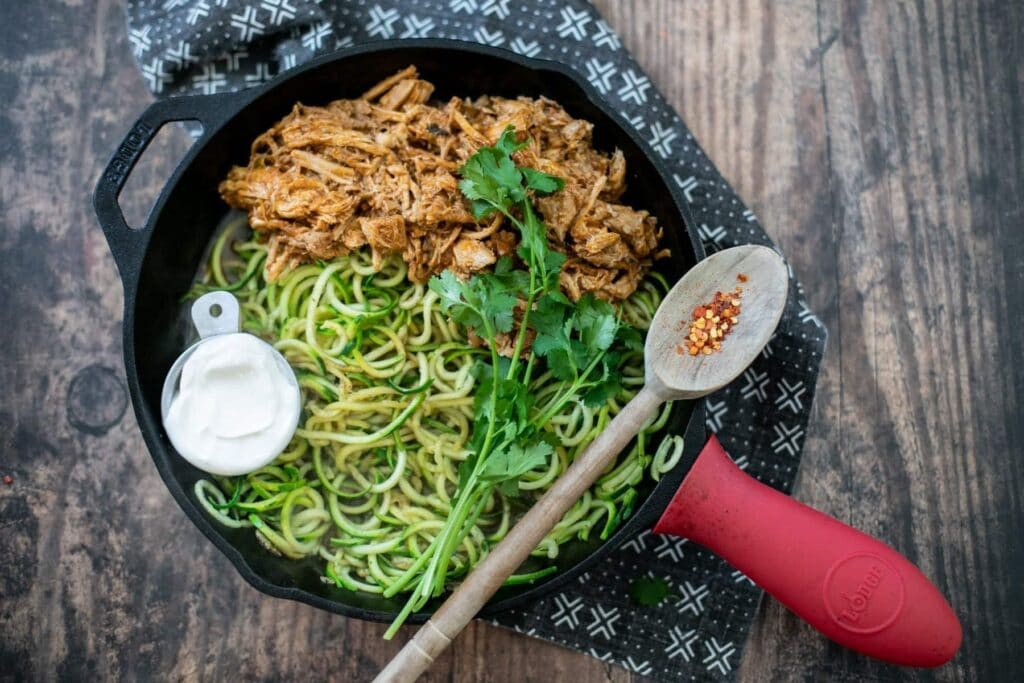 keto-carnitas-with-zucchini-noodles