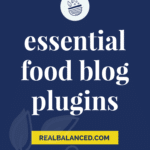 Essential Food Blog Plugins hero image