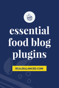 Essential Food Blog Plugins hero image