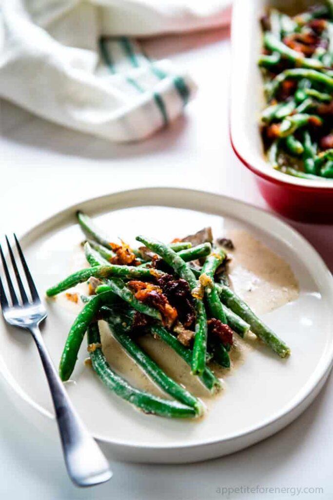 keto-thanksgiving-sauteed-green-beans