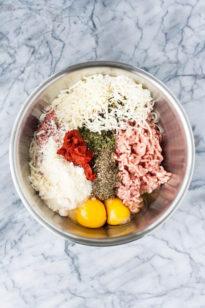 italian-meatball-ingredients-in-a-bowl