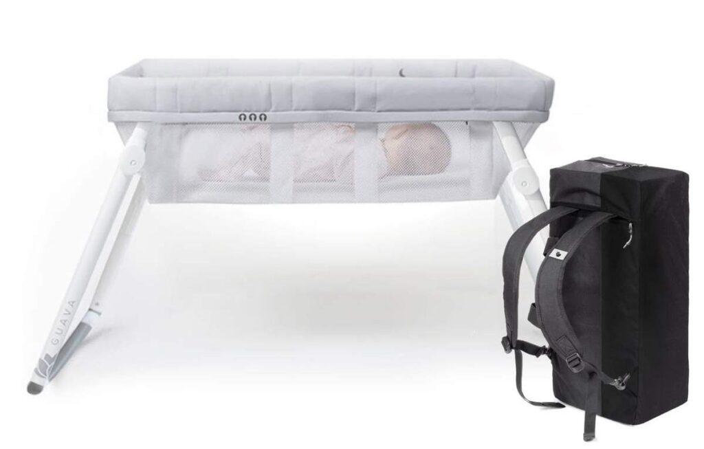 LOTUS Bassinet Kit & Crib Bundle in white