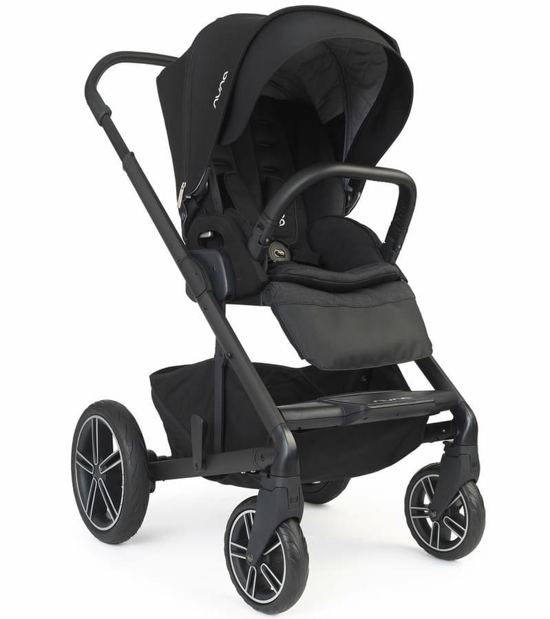 Nuna MIXX2 Stroller in Caviar color