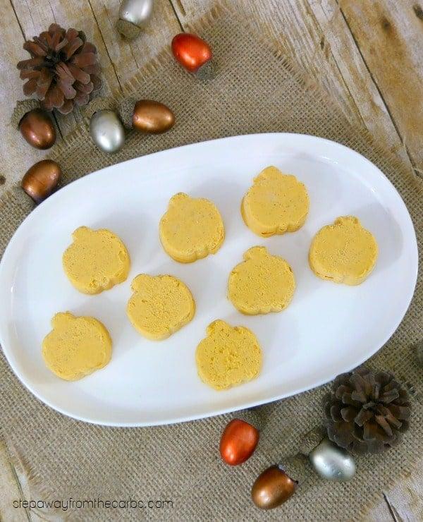 pumpkin-fat-bombs-on-plate-festive
