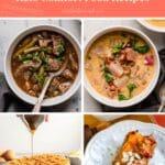 15 keto comfort food collage pinterest pin image