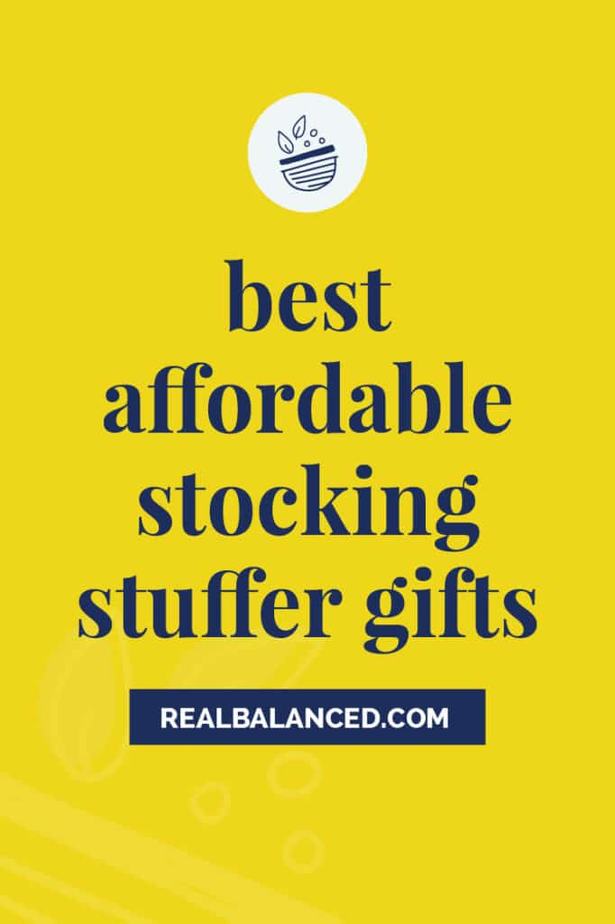 Best Affordable Stocking Stuffer Gifts yellow featured image