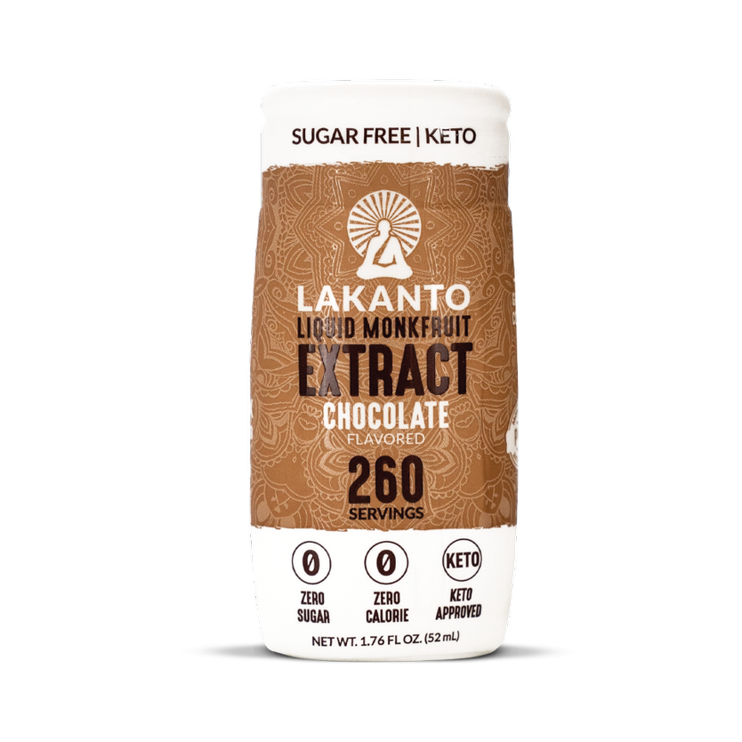 chocolate liquid monk fruit extract from lakanto