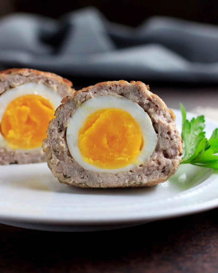 two-keto-instant-pot-scotch-eggs
