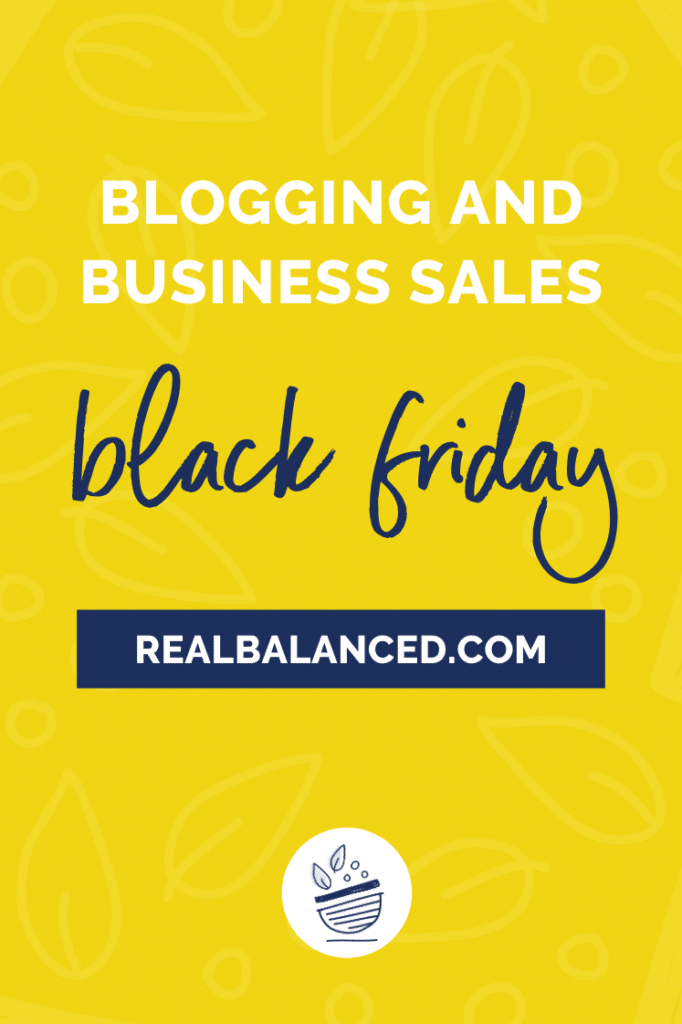 blogging and business black friday sales featured image