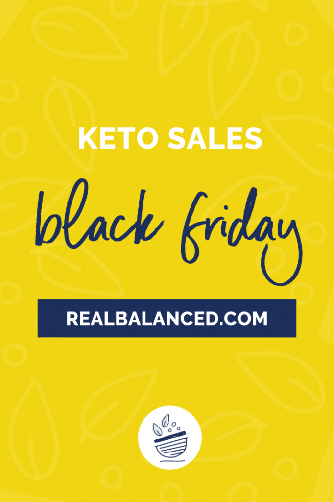 keto black friday sales