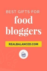 Best Gifts For Food Bloggers Pinterest Pin Image