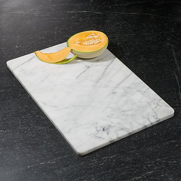 crate and barrel marble pastry slab for food photography