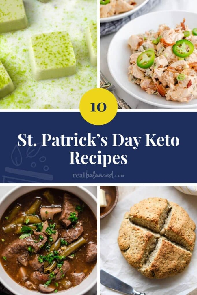 St. Patrick's Day Keto Recipes featured image