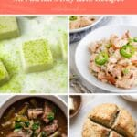St. Patrick's Day Keto Recipes Pinterest pin image