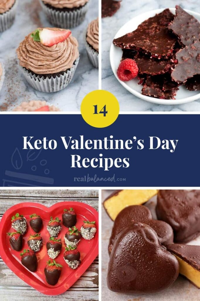 keto valentines' day recipes featured image