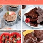 keto Valentine's day recipes Pinterest pin image