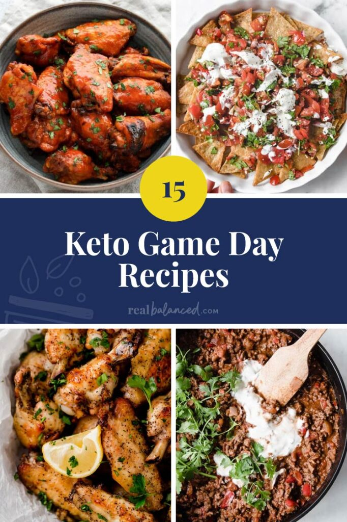 keto game day recipes featured image