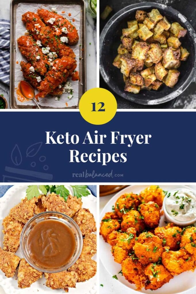 Keto Air Fryer Recipes featured image
