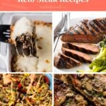 10 Keto Steak Recipes Pinterest Pin Image