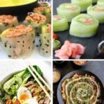 Keto Japanese Recipes Pinterest pin image