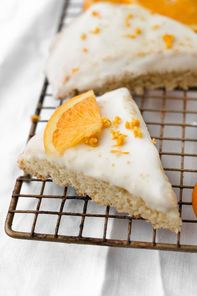 Low-Carb-Glazed-Orange-Scones