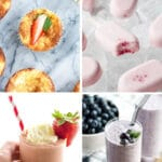 15 Low Carb Keto Berry Recipes Pinterest Pin Collage in green
