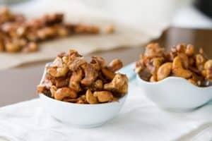 Dairy-Free Keto Recipes: keto cashew coconut clusters