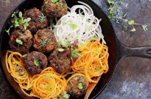 Dairy-Free Keto Recipes: paleo asian meatballs