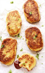 Dairy-Free Keto Recipes: gluten-free vegan cauliflower hashbrowns