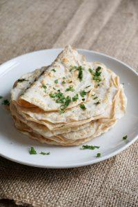 Dairy-Free Keto Recipes: low carb tortillas