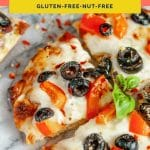 keto frozen pizza from Foster Farms Pinterest pin